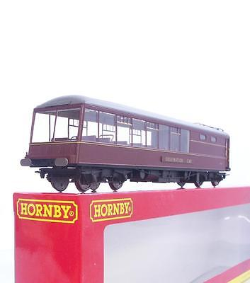 HORNBY OO R4473 - MINT PULLMAN COACH with LIGHTING - BR MAROON OBSERVATION CAR