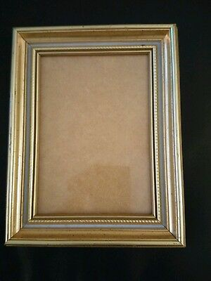 Photo Picture Frame 4x6 antique design thick gold frame