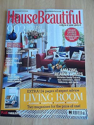 House Beautiful Monthly Magazine - November 2016