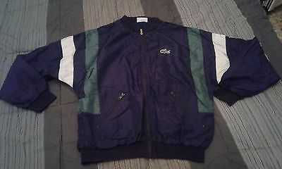 Giacca vintage ufficiale LACOSTE  taglia large made in france