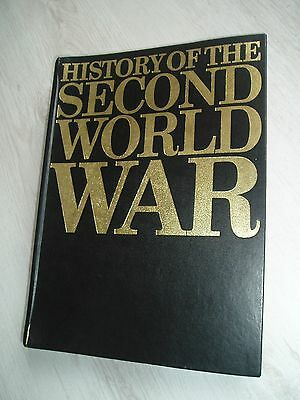 6 Volumes  Of Purnell's  History Of The Second World War Magazines