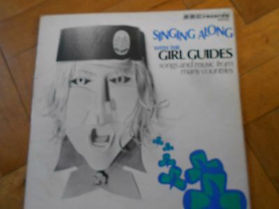 BBC records - Singing along with the Girl Guides - 1971