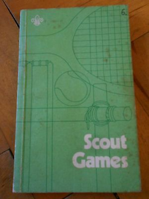 Scout Games - printed 1972