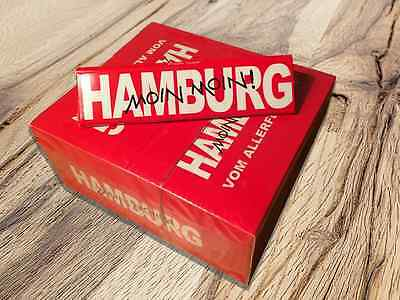 HAMBURG PAPERS King Size Slim 50er Box/32x Zigarettenpapier Papers Blättchen Box