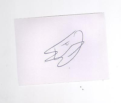 Rangers/Dundee Utd/Kikmarnock Cammy Bell HAND SIGNED card