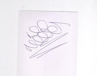 Rangers/Kilmarnock Lee McCulloch HAND SIGNED card