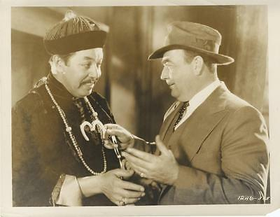 """paramount On Parade""-Original Photo-Fu Manchu-Warner Oland-Eugene Pallette"