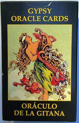 Gypsy Oracle Cards Deck New Wicca Fortune Telling Tarot Witch Estate English