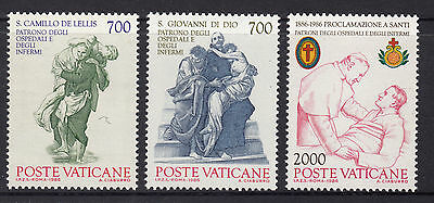 VATICAN 1986 Cent. of Proclamation  Set MINT UNMHINGED