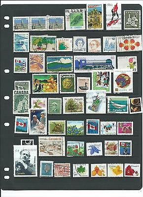 Canada Stamps Used