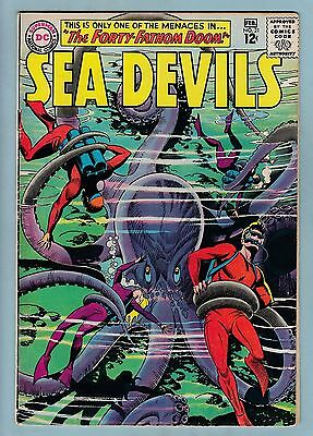 SEA DEVILS #'s 21, 25, 26, 27  Avg GVG (3.0)  DC - 1965 - CENTS - 65% OFF GUIDE