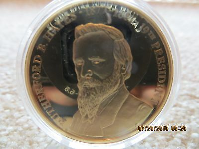 AMERICAN MINT  Rutherfor B Hayes Presidential Coin Token