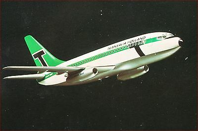 Transavia Holland B 737, airline issued card