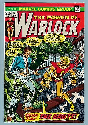 WARLOCK # 6 VFN (7.5/8.0)  GLOSSY HIGHER GRADE - CENTS - WHITE PAGES - 99p START