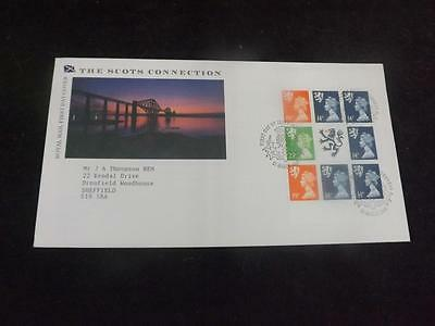 1989 Scots Connection Prestige Pane First Day Cover Inverness SHS NOV79(20)
