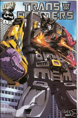 Transformers: Generation 1 #6 (Vol.1)  (Dreamwave)