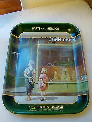 John Deere Tin advertising tray (1999) -A Friend in Need