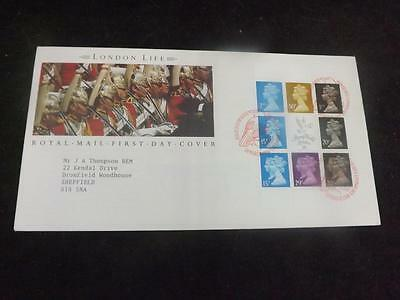 1990 London Life Prestige Pane First Day Cover Tower Hill SHS NOV79(20)