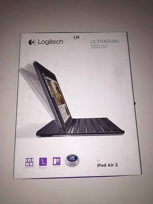 Logitech Ultrathin Magnetic Clip-on Keyboard Cover for iPad Air 2 - UK Version