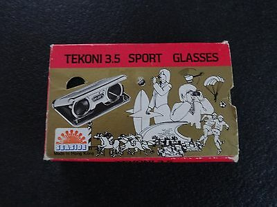 Vintage Tekoni 3.5 sport glasses lovely