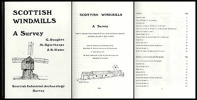 Scottish Windmills a Survey Industrial Archaeology Douglas Mühlengeschichte