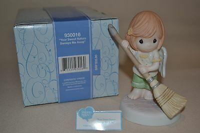 Nib 2009 Precious Moments Your Sweet Nature Sweeps Me Away 930016 Sam Bass