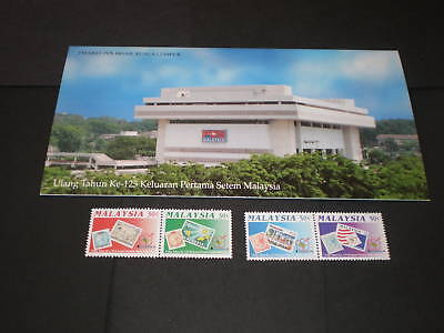 Malaysia 1992 125Th Ann Of First Stamp Pres Pack