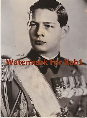 WW2 1944 Press Photo King Michael of Romania Joins The United Nations
