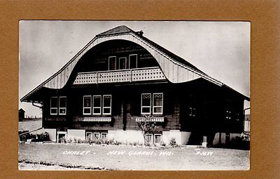 RPPC New Glarus,Green County,WI Wisconsin Chalet used 1961
