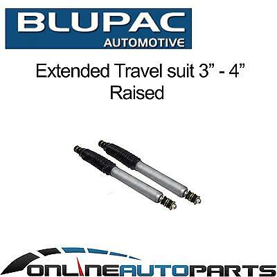 """2 Front Big Bore Shock Absorbers suit 3""""-4"""" Lift Landcruiser 80 Series 1990-1998"""