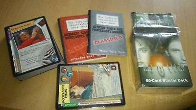 X-Files Starter Deck Trading Cards Game  Condition Unused Unbenutzt