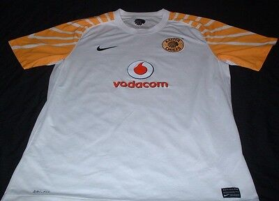 Kaizer Chiefs African South Africa Football Large Mans Nike Made Soccer Jersey