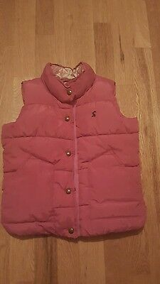 Joules Girls Gilet Age 6 Years