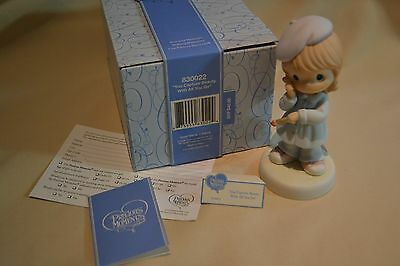 Nib 2008 Precious Moments You Capture Beauty With All You Do 830022 Sam Bass