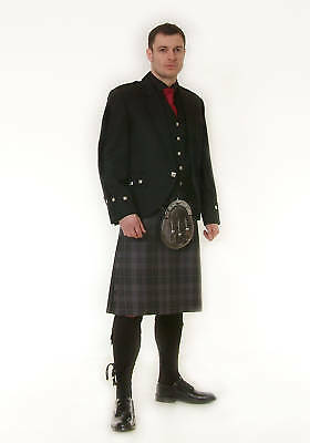 "Scottish Black Argyll Kilt Package Made To Measure ""sale Offer""  Now £279"