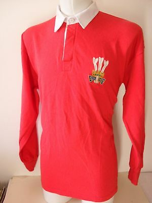Welsh Rugby Red Shirt (Size Xxl)