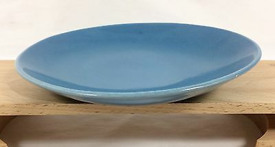 "EVA ZEISEL Red Wing Town & Country DUSK BLUE 8"" Salad Dessert Plate MCM 1950's"