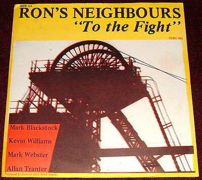 "Ron's Neighbours-To The Fight / The Body Of People-Enough Is Enough..7"" Vinyl Ex"