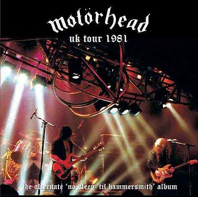 MOTORHEAD UK Tour 1981 UK LP - alternate No Sleep 'til Hammersmith NOW ON VINYL