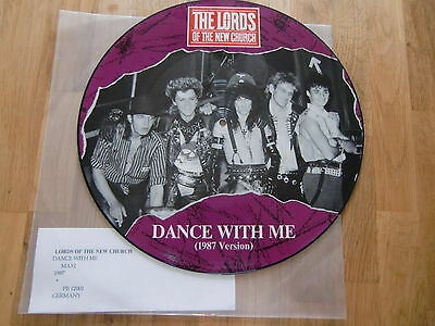 """Lords Of The New Church / Dance With Me /  Rare Picture Disc 12"""" !!"""