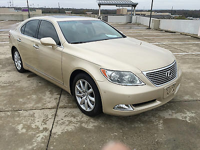 2007 Lexus LS 460 Upscale - Luxury LS460 Upscale - Luxury Sedan ,wood & leather trimmed heated steering wheel