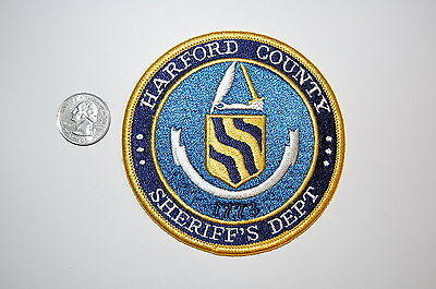 Harford County Connecticut Sheriff Dept Patch