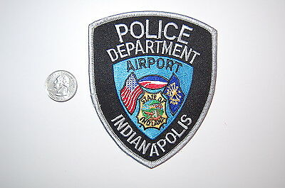 Indianapolis Indiana Airport Police Dept Patch