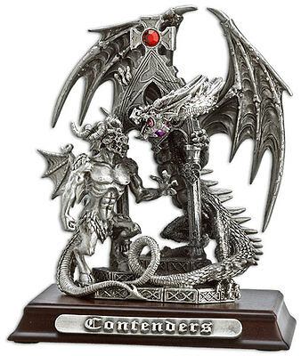 Contenders Pewter Myth and Magic - Fantasy Dragon Figurine
