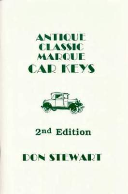 Antique Classic Marque Car Keys book