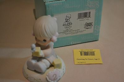 Nib 1994 Precious Moments Growing In Grace Series Age 2 136212