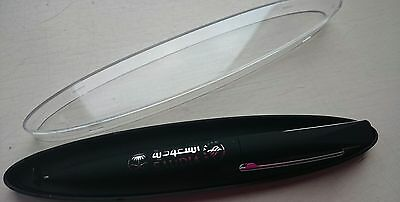 SAUDIA AIRLINE Saudi Arabia sky team pen ballpoint pen black ink very rare!!