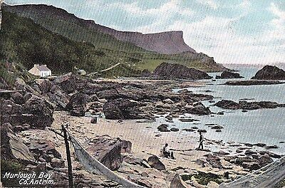 c northern ireland postcard ulster irish antrim murlough bay
