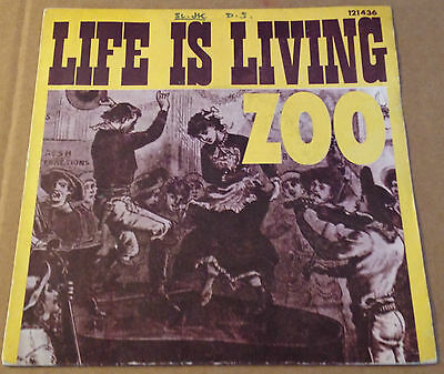 ZOO - STIGGY POO/LIFE IS LIVING- FRENCH RIVIERA + P/S - French Jazz funk - HEAR
