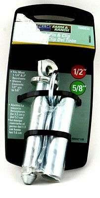 """Hitch Pin & Clip 1/2"""" 5/8"""" by Reese Farm Ranch New"""